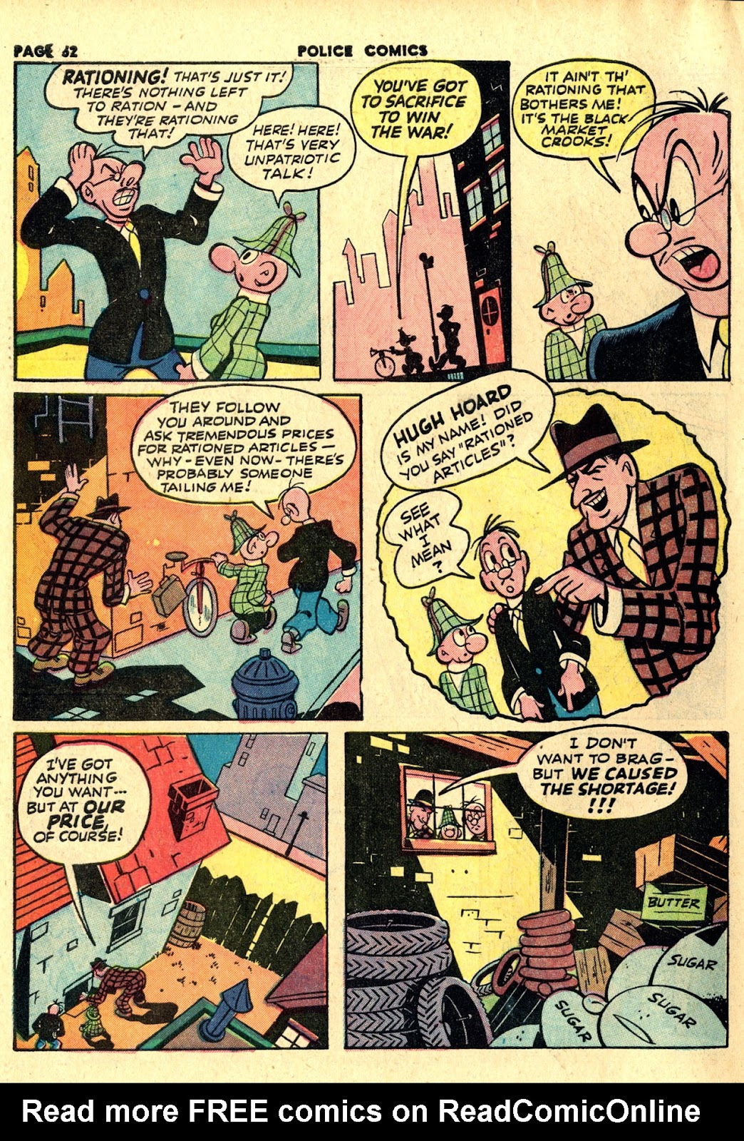 Police Comics issue 19 - Page 54