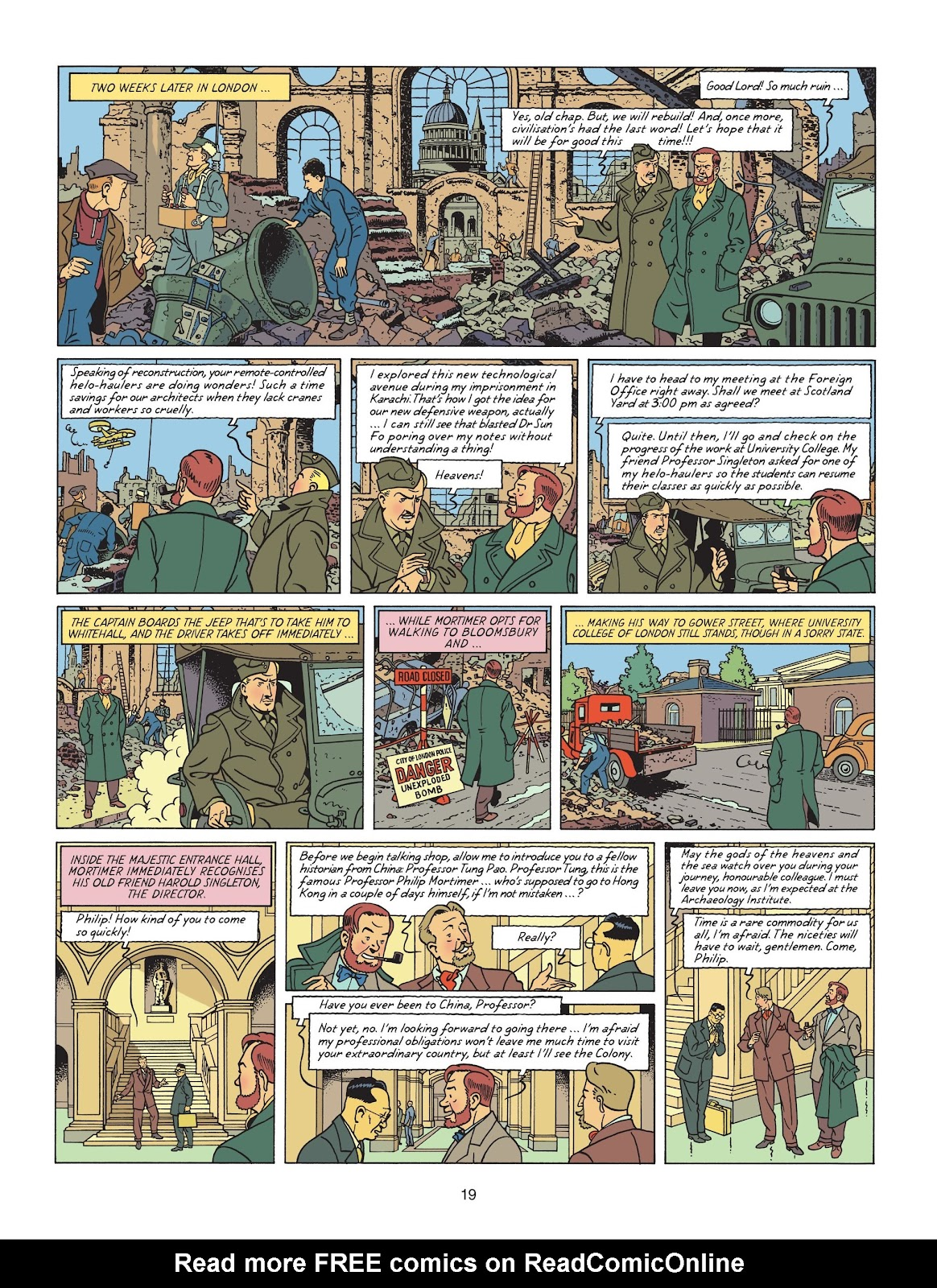 Read online Blake & Mortimer comic -  Issue #25 - 21