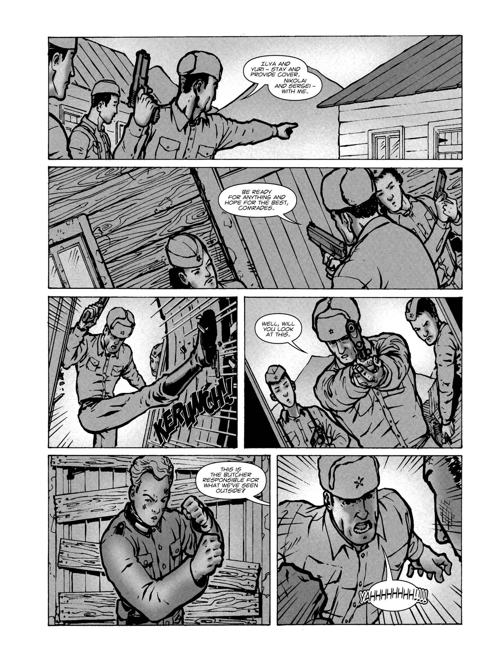 Read online FUBAR comic -  Issue #1 - 50
