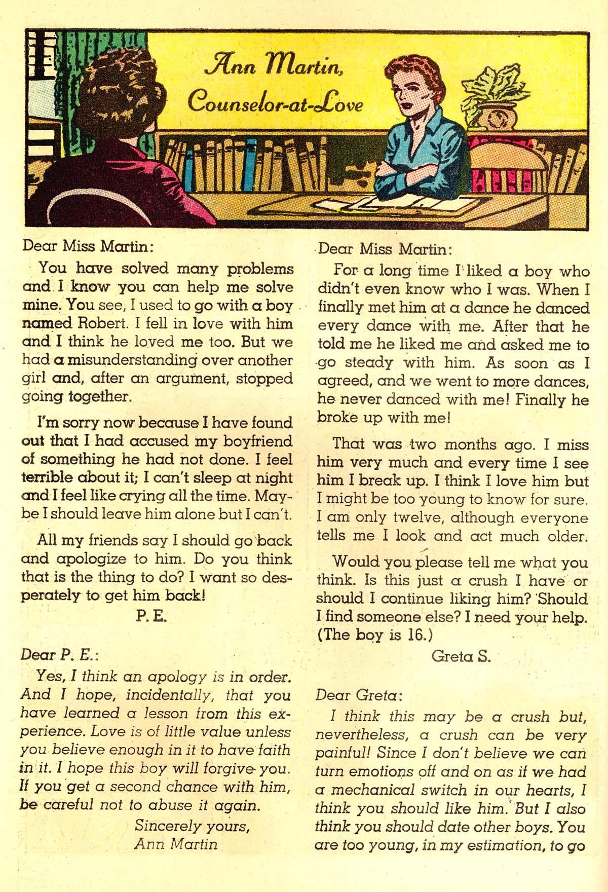 Read online Secret Hearts comic -  Issue #89 - 18