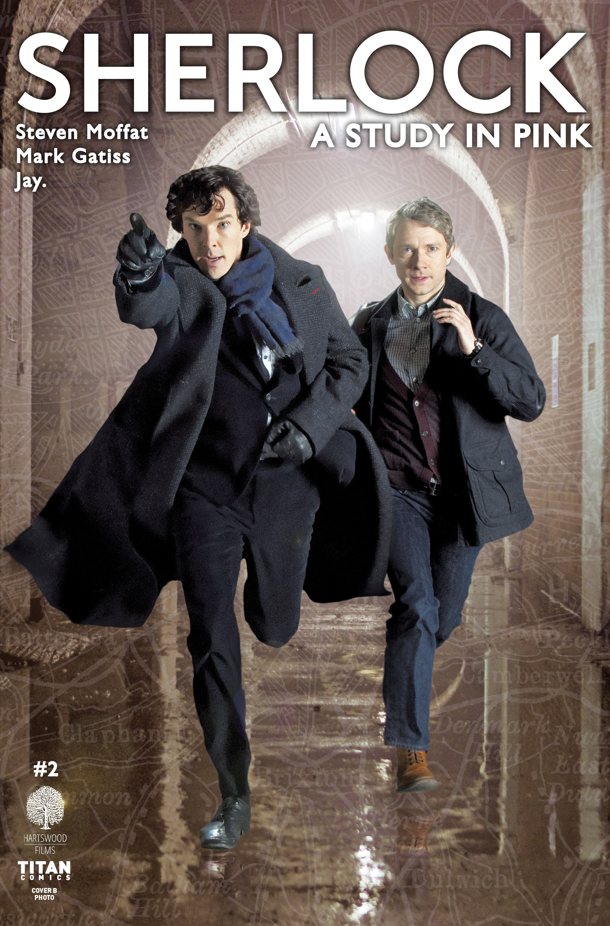 Read online Sherlock: A Study In Pink comic -  Issue #2 - 2