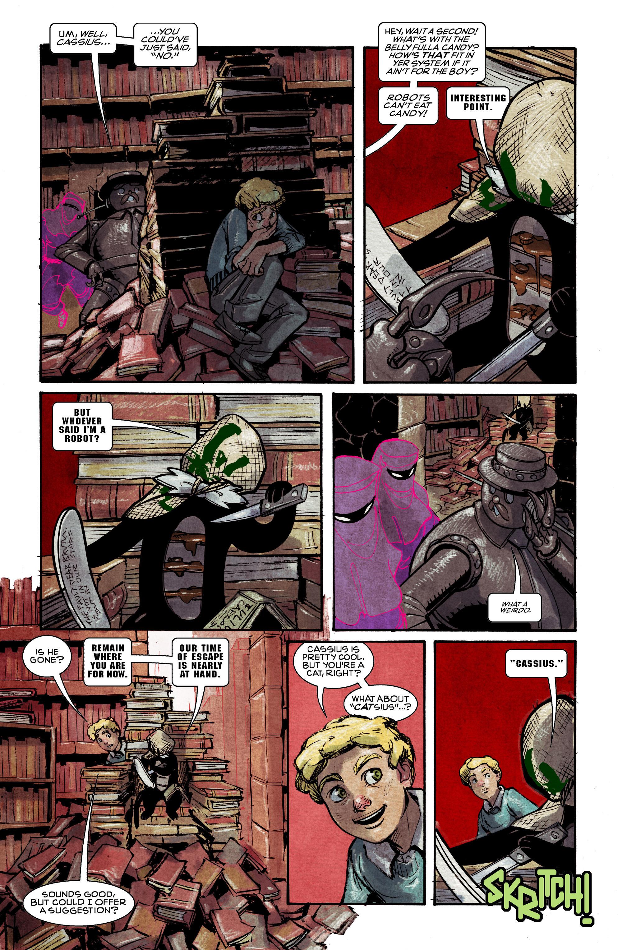 Read online Shutter comic -  Issue #11 - 12