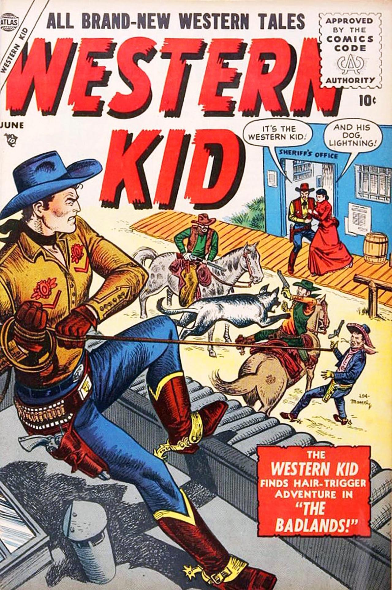 Western Kid 4 Page 1