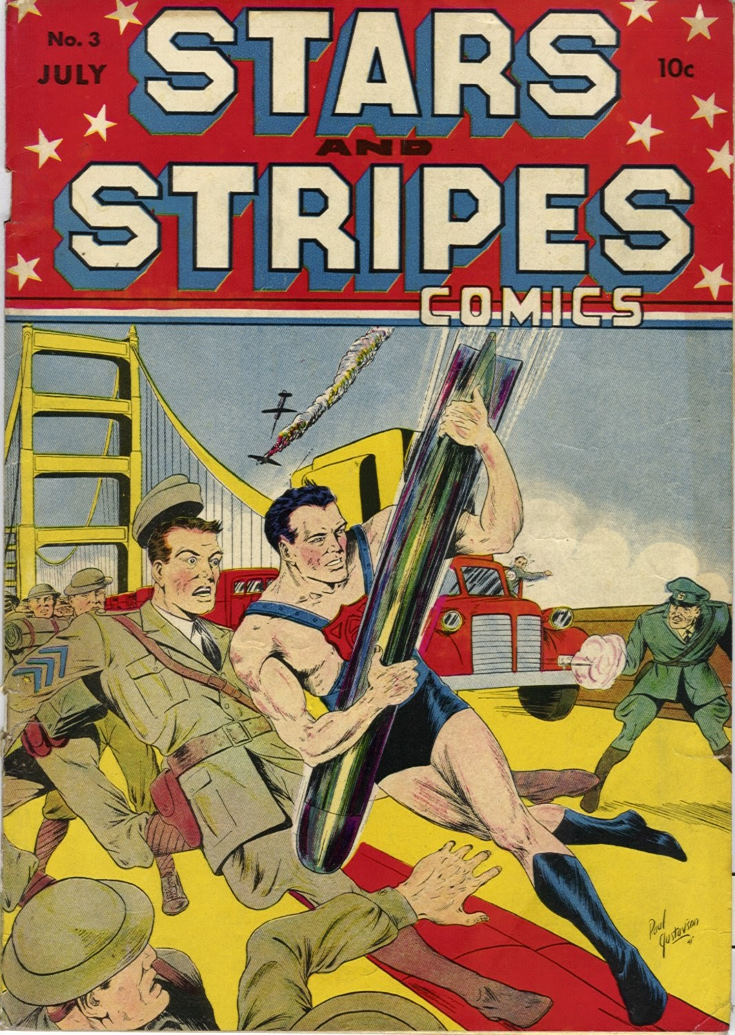 Stars and Stripes Comics issue 3 - Page 1