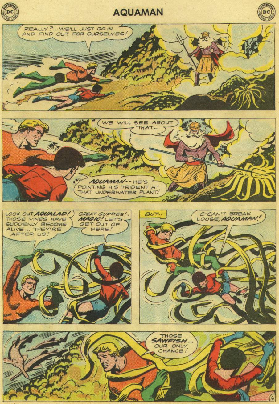 Read online Aquaman (1962) comic -  Issue #9 - 8