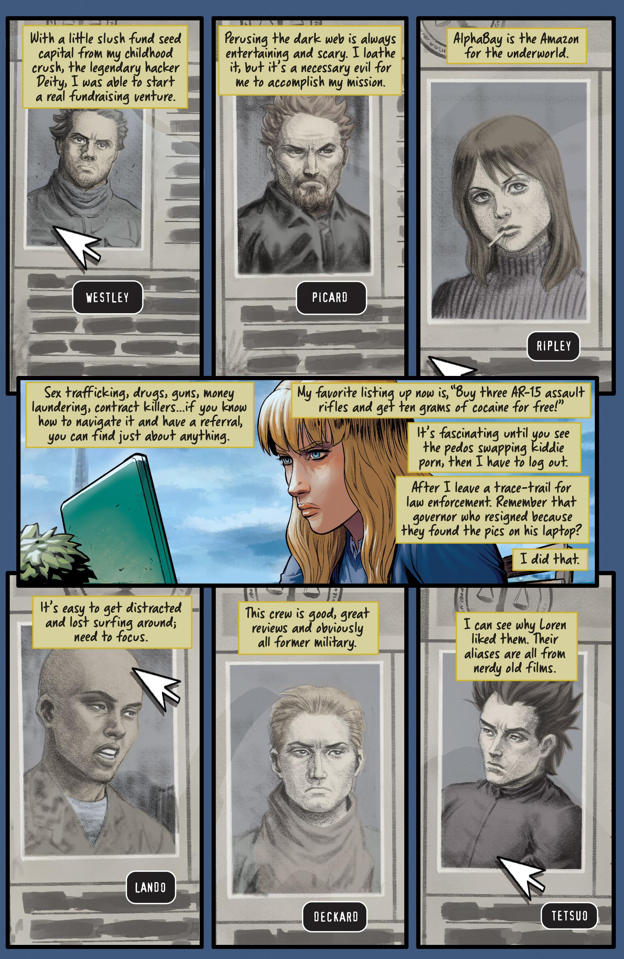 Read online Samaritan: Vertias comic -  Issue #1 - 12
