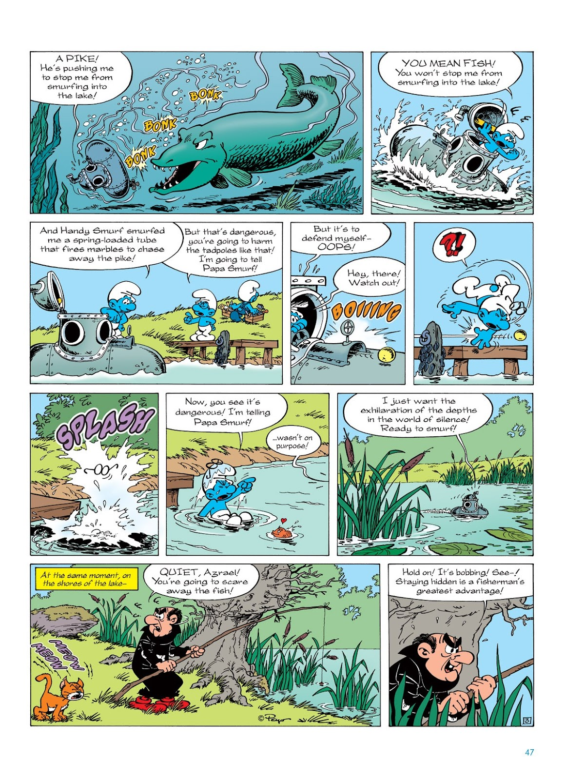 Read online The Smurfs comic -  Issue #7 - 47