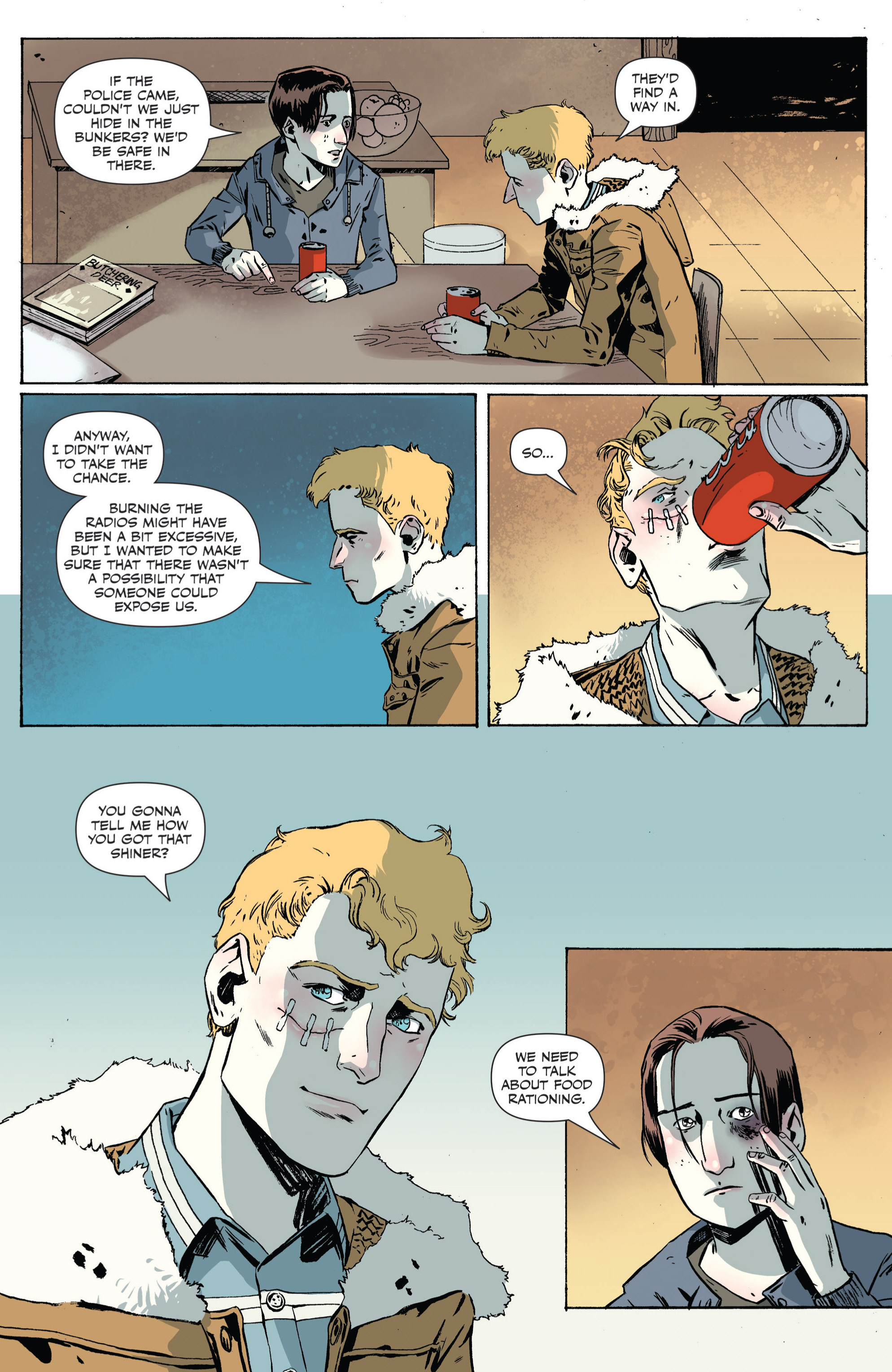 Read online Sheltered comic -  Issue #4 - 16