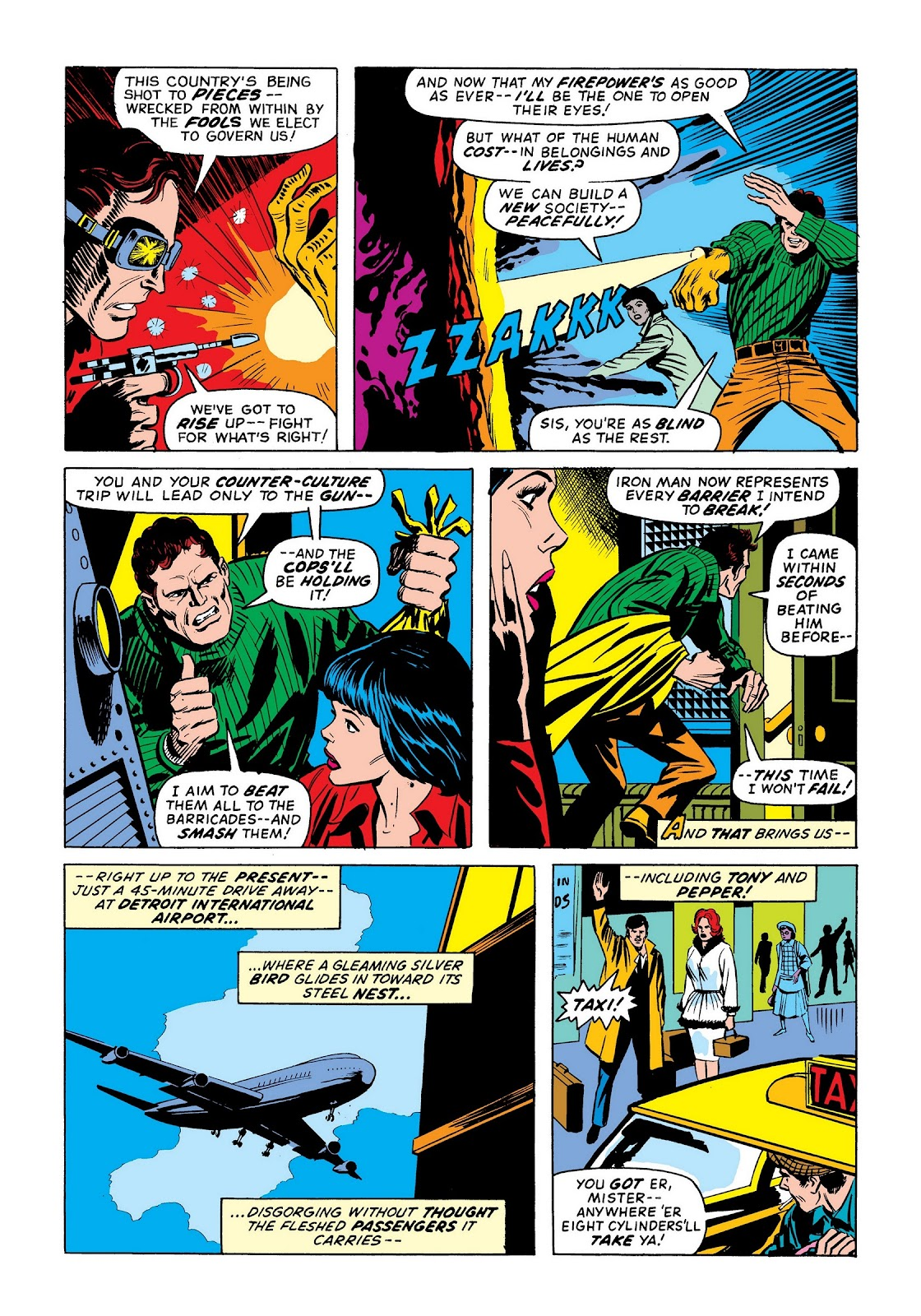 Read online Marvel Masterworks: The Invincible Iron Man comic -  Issue # TPB 9 (Part 2) - 21
