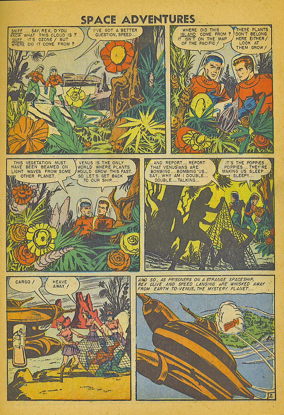 Space Adventures (1952) issue 3 - Page 10