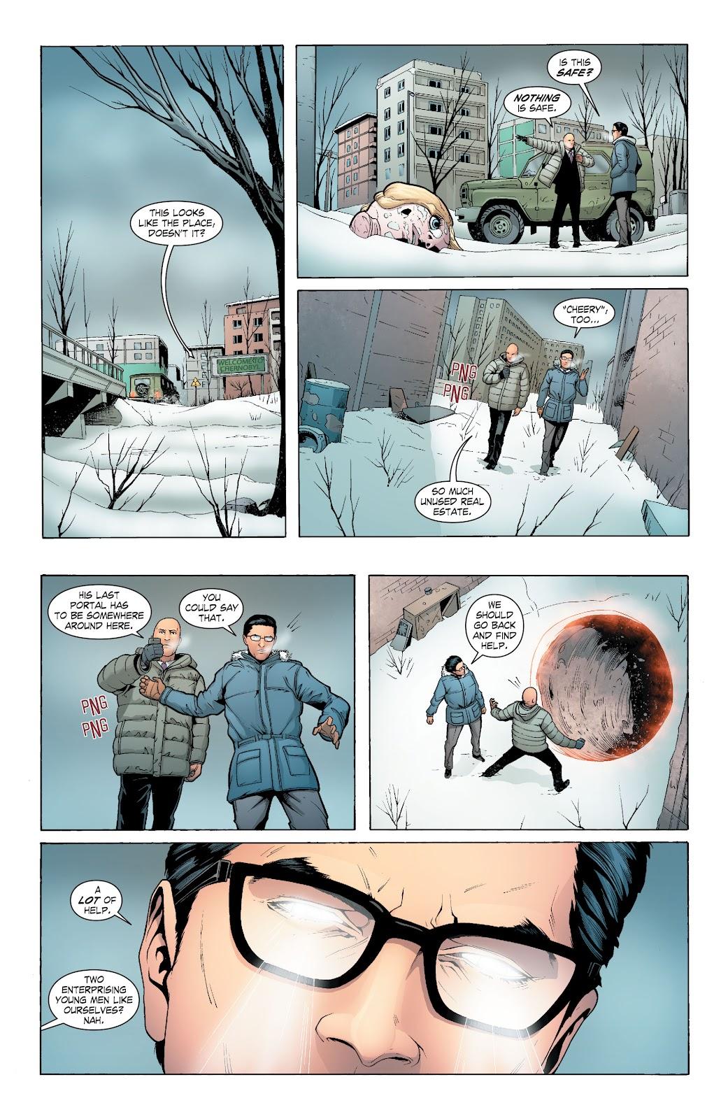 Read online Smallville Season 11 [II] comic -  Issue # TPB 6 - 121