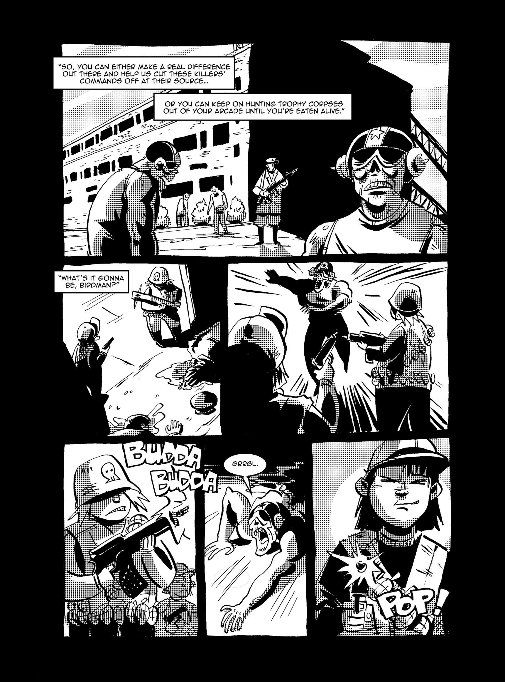 Read online FUBAR comic -  Issue #3 - 365