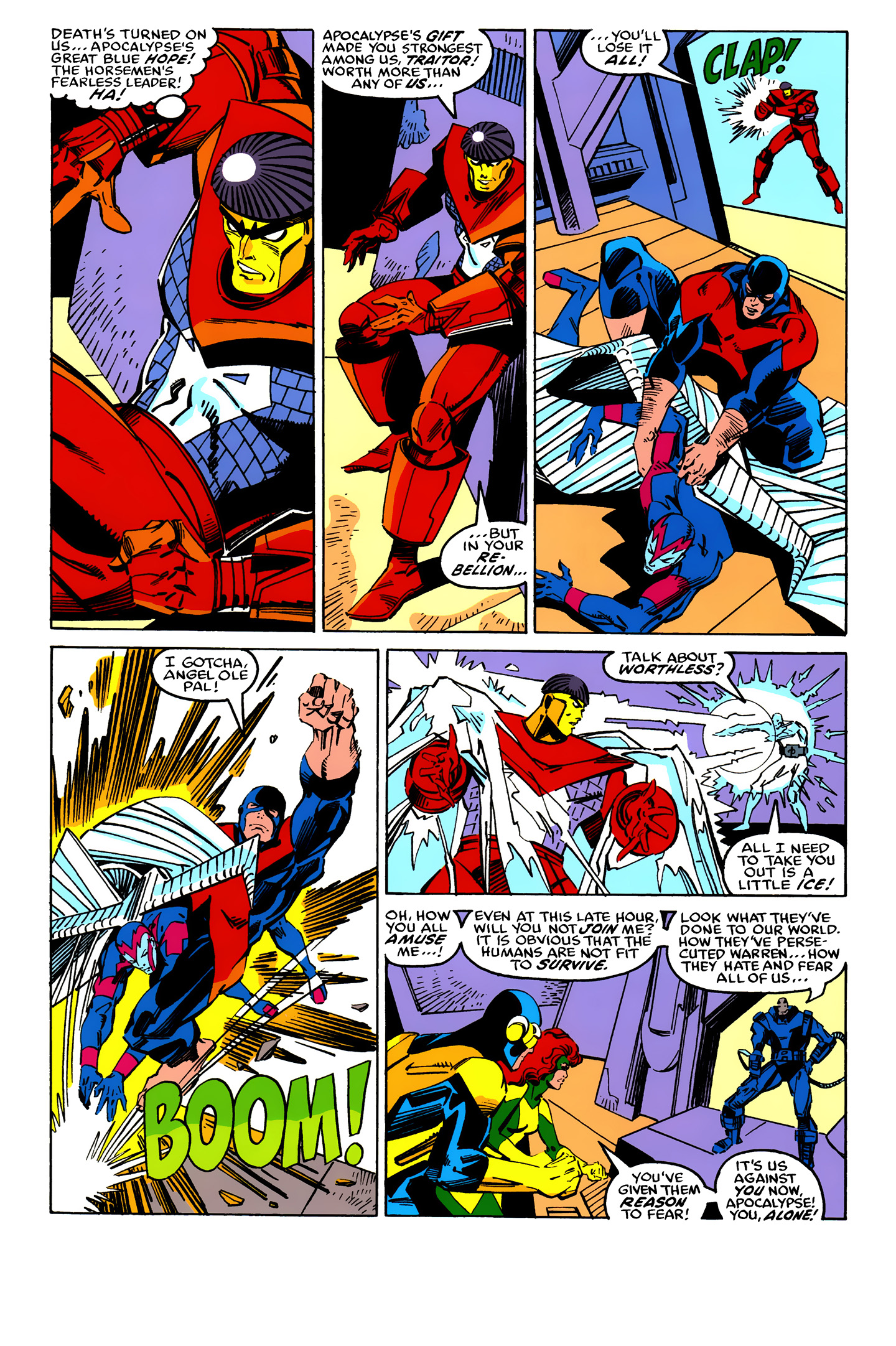 Read online X-Factor (1986) comic -  Issue #25 - 34