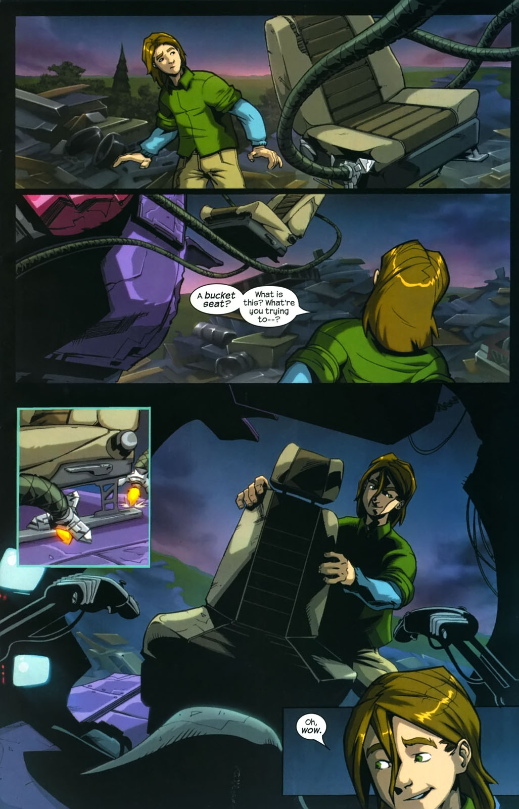 Read online Sentinel (2006) comic -  Issue #4 - 4