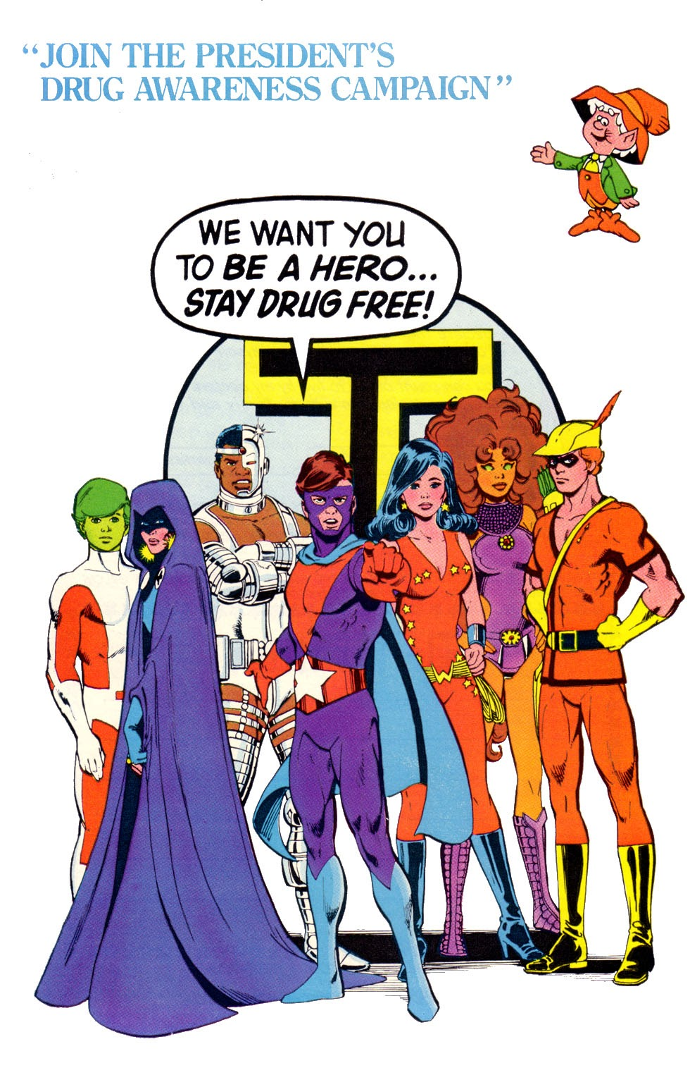 Read online The New Teen Titans (Drug Awareness Specials) comic -  Issue #2 - 36