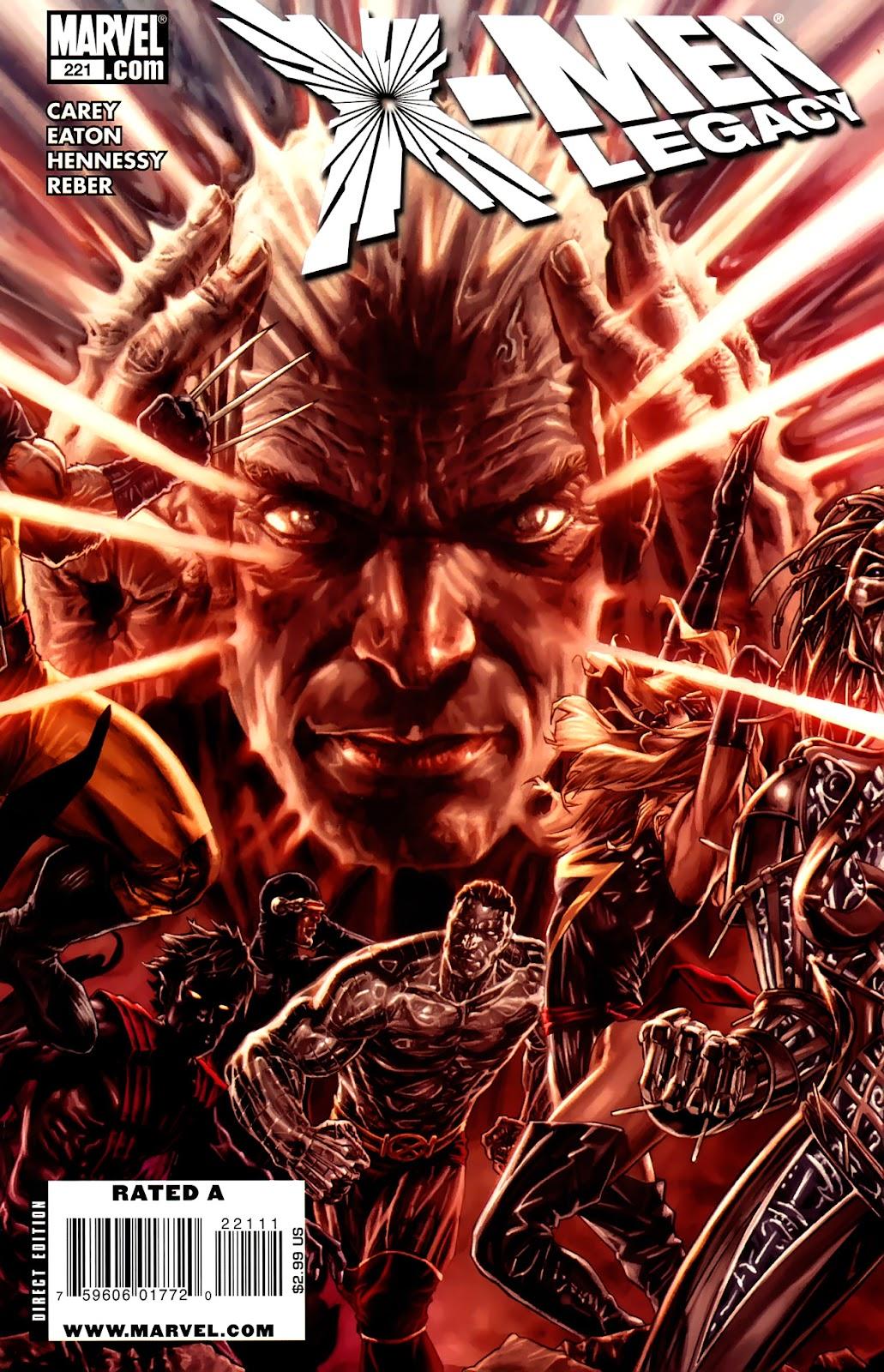 X-Men Legacy (2008) 221 Page 1
