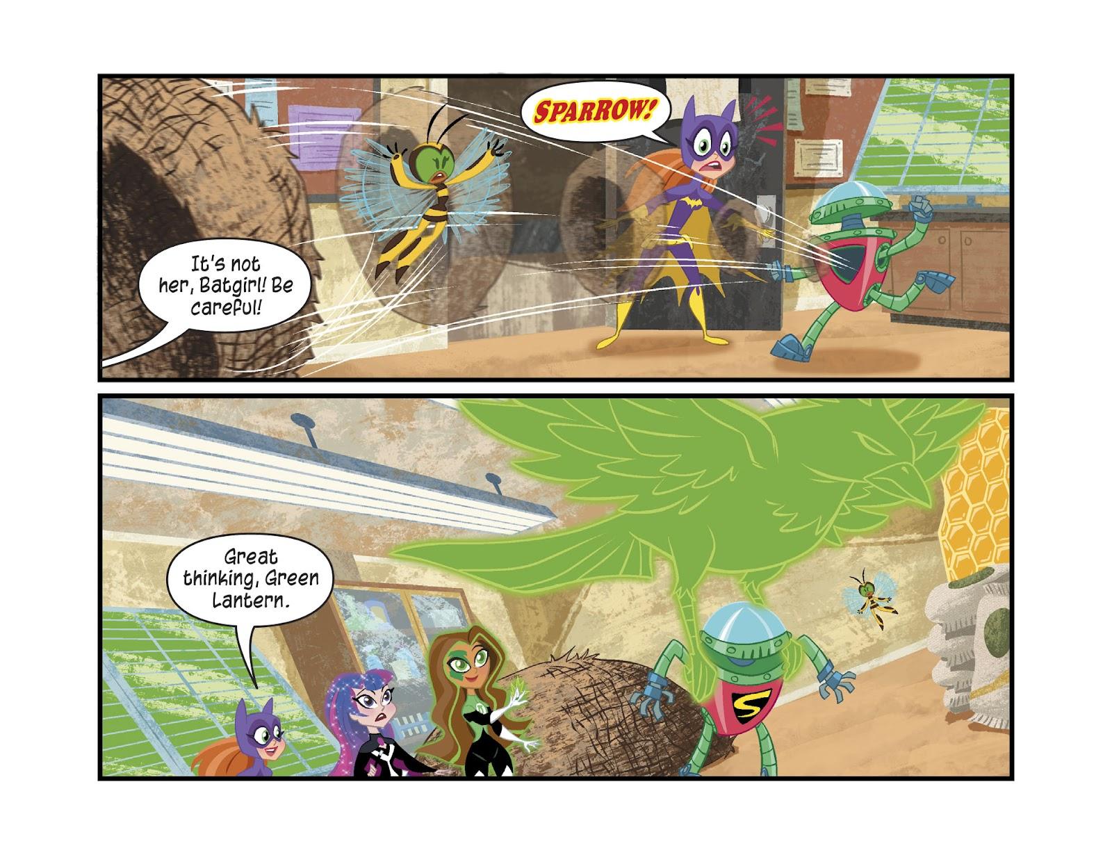 Read online DC Super Hero Girls: Weird Science comic -  Issue #13 - 13