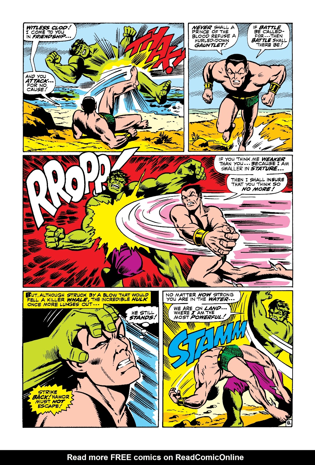 Read online Marvel Masterworks: The Incredible Hulk comic -  Issue # TPB 3 (Part 3) - 36
