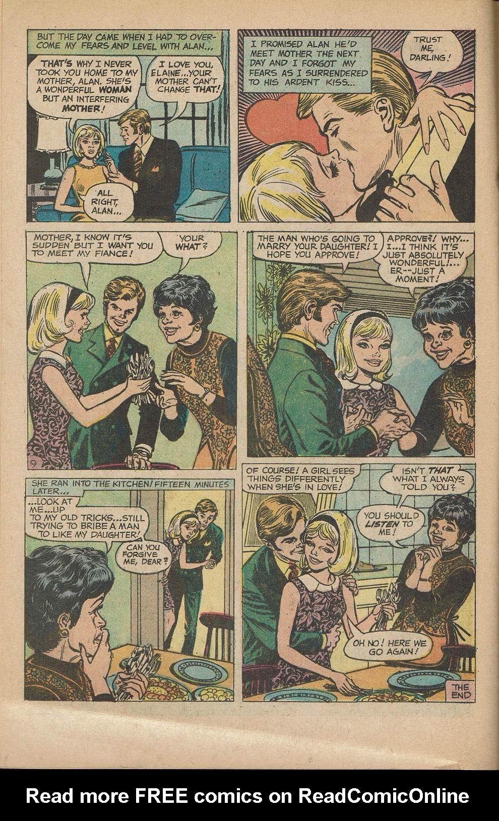 Read online Secret Hearts comic -  Issue #151 - 12