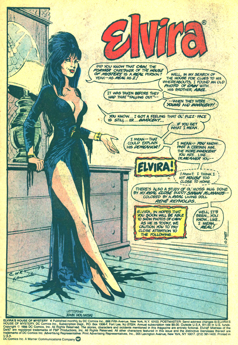 Elvira's House of Mystery Issue #4 #5 - English 2