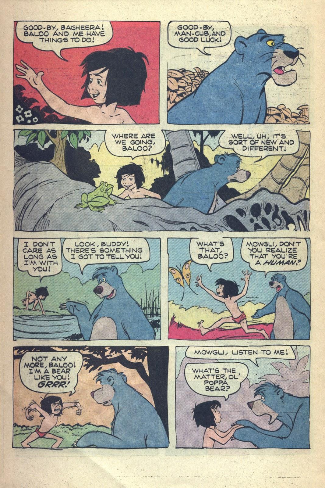 Read online Walt Disney presents The Jungle Book comic -  Issue # Full - 19