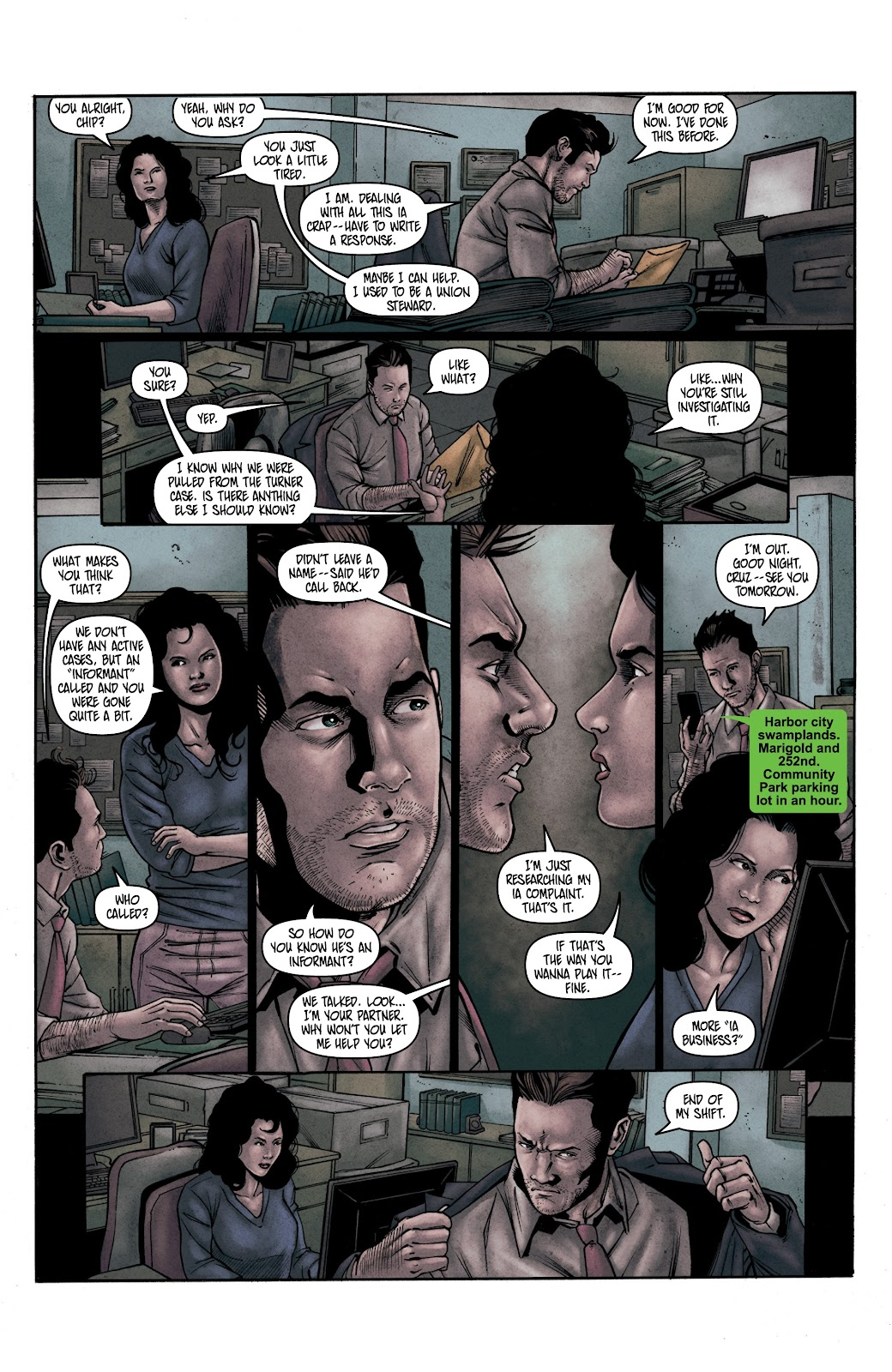 Read online Vindication comic -  Issue #2 - 20