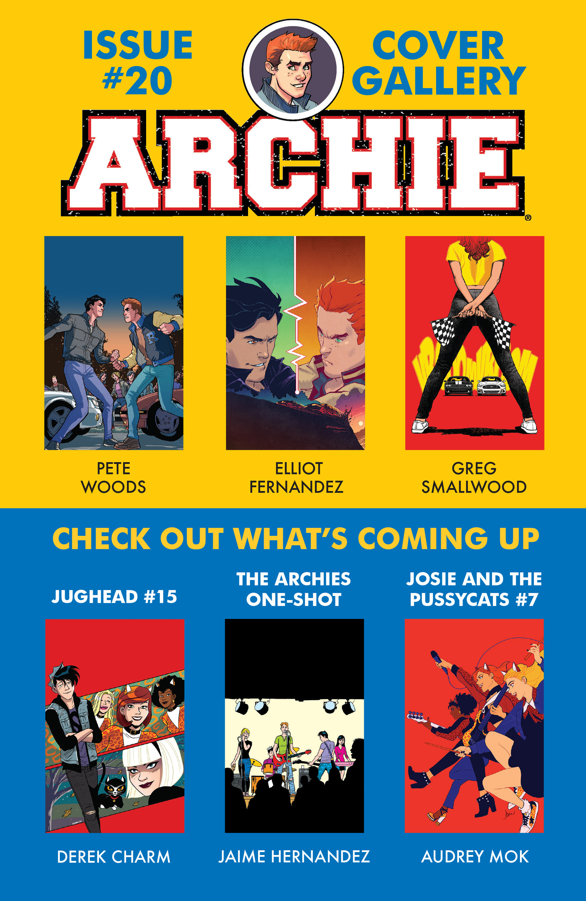 Read online Archie (2015) comic -  Issue #20 - 23