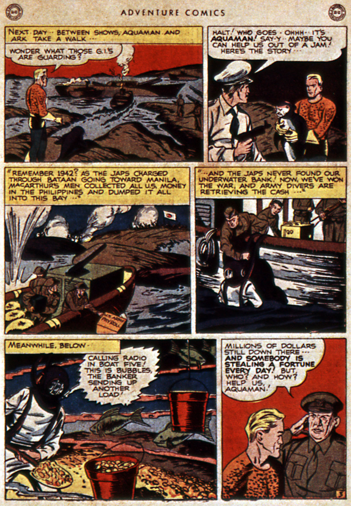 Read online Adventure Comics (1938) comic -  Issue #111 - 45