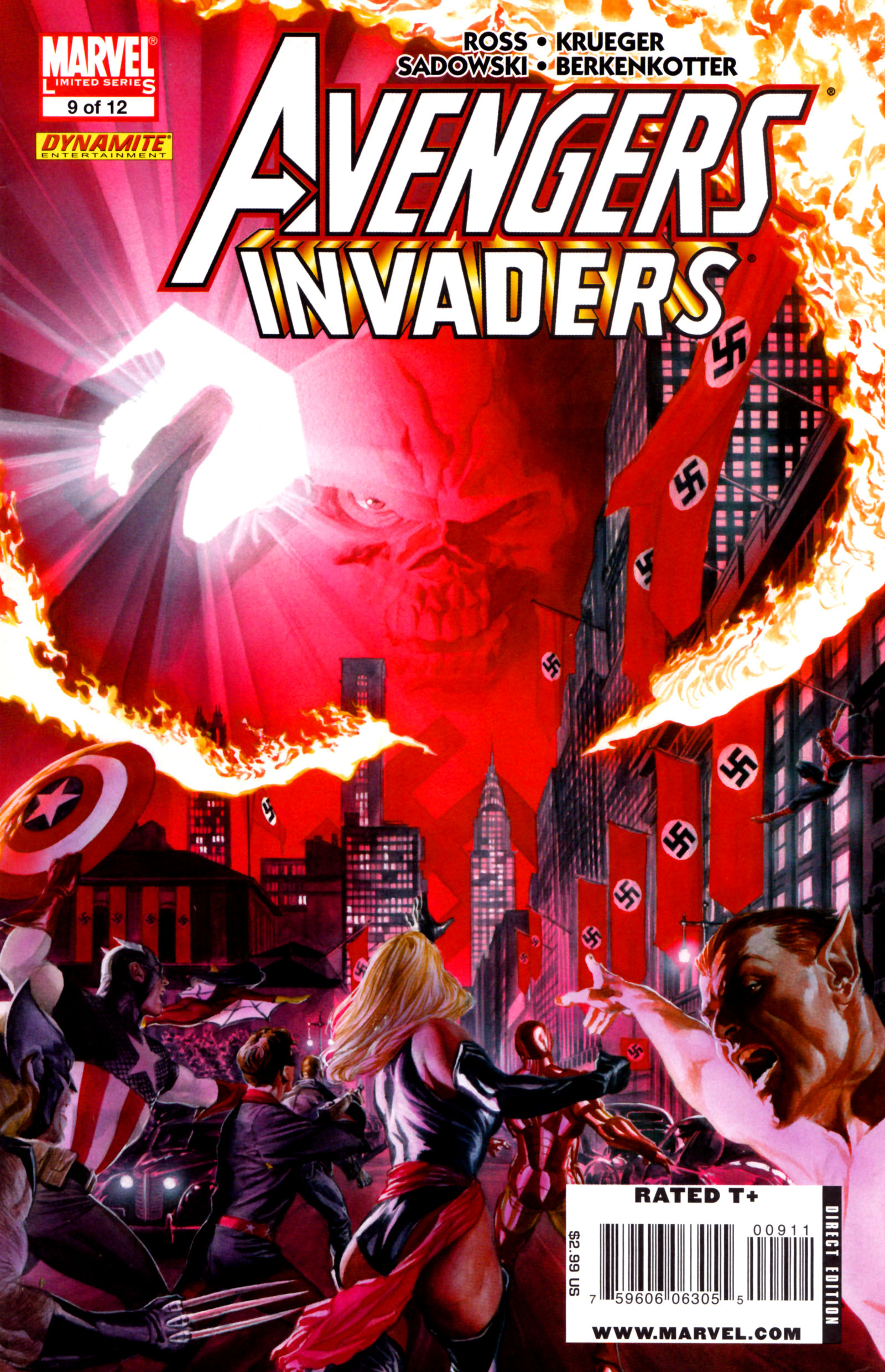 Avengers/Invaders 9 Page 1