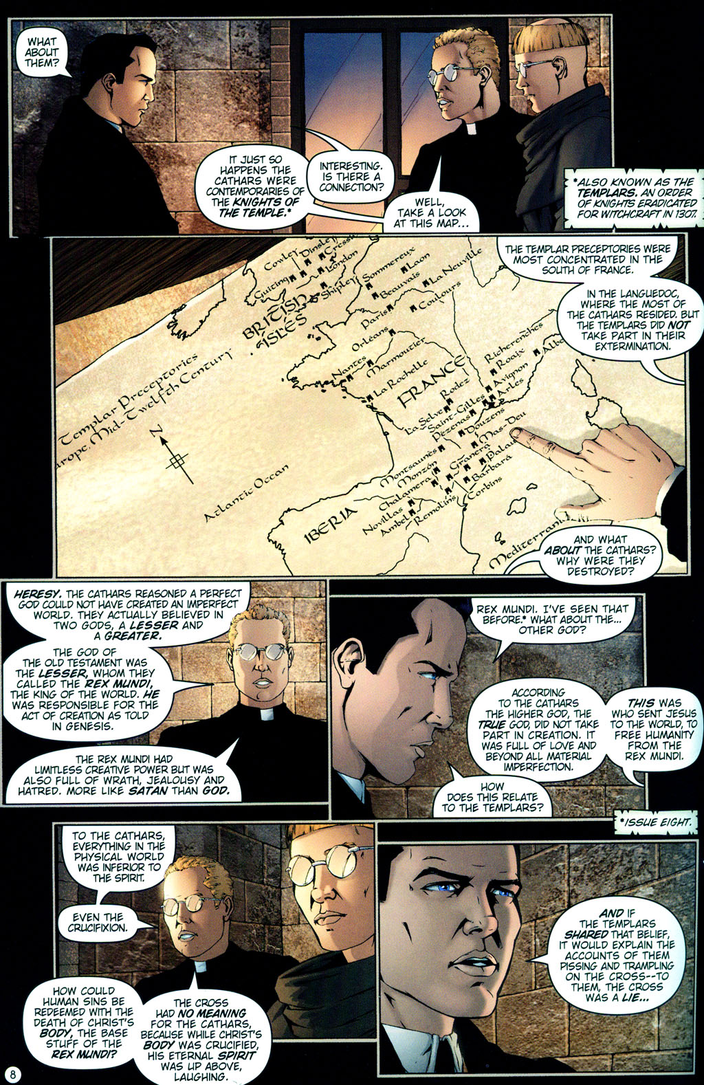 Read online Rex Mundi comic -  Issue #12 - 12