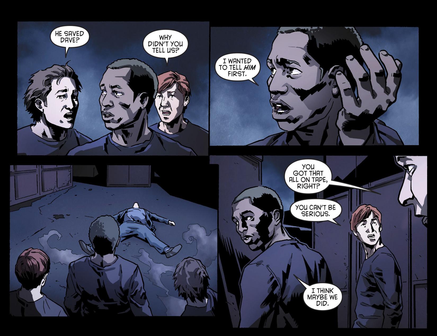 Read online Arrow [II] comic -  Issue #8 - 21