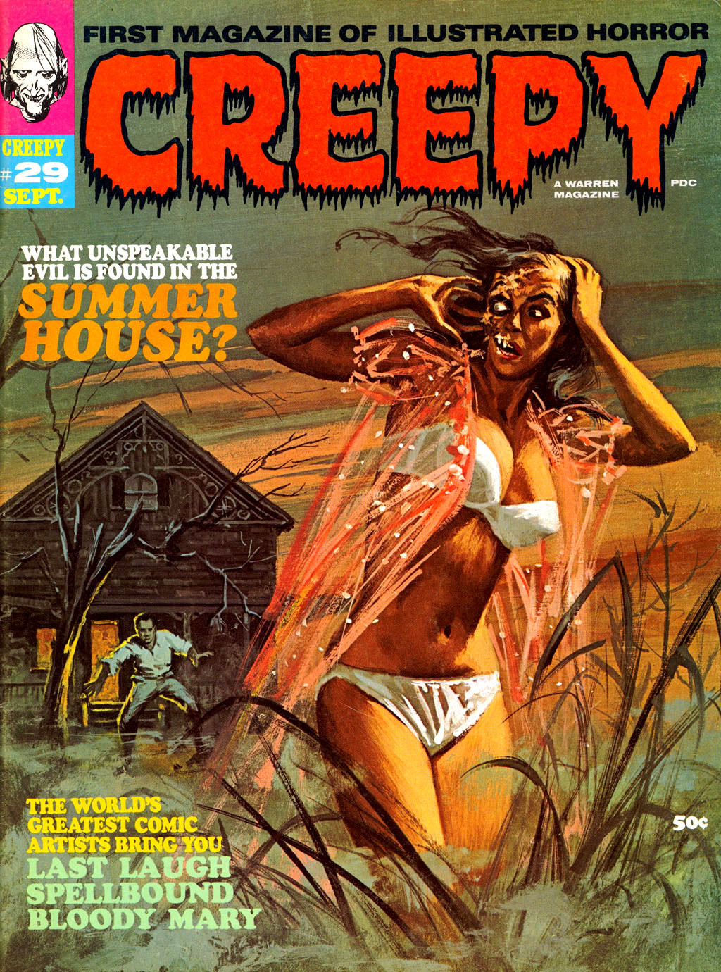 Creepy (1964) 29 Page 1