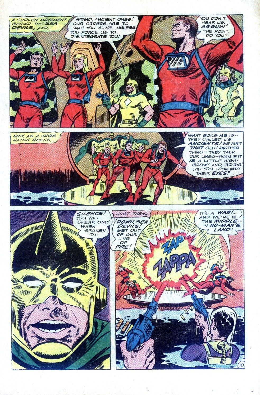 Read online Sea Devils comic -  Issue #32 - 16
