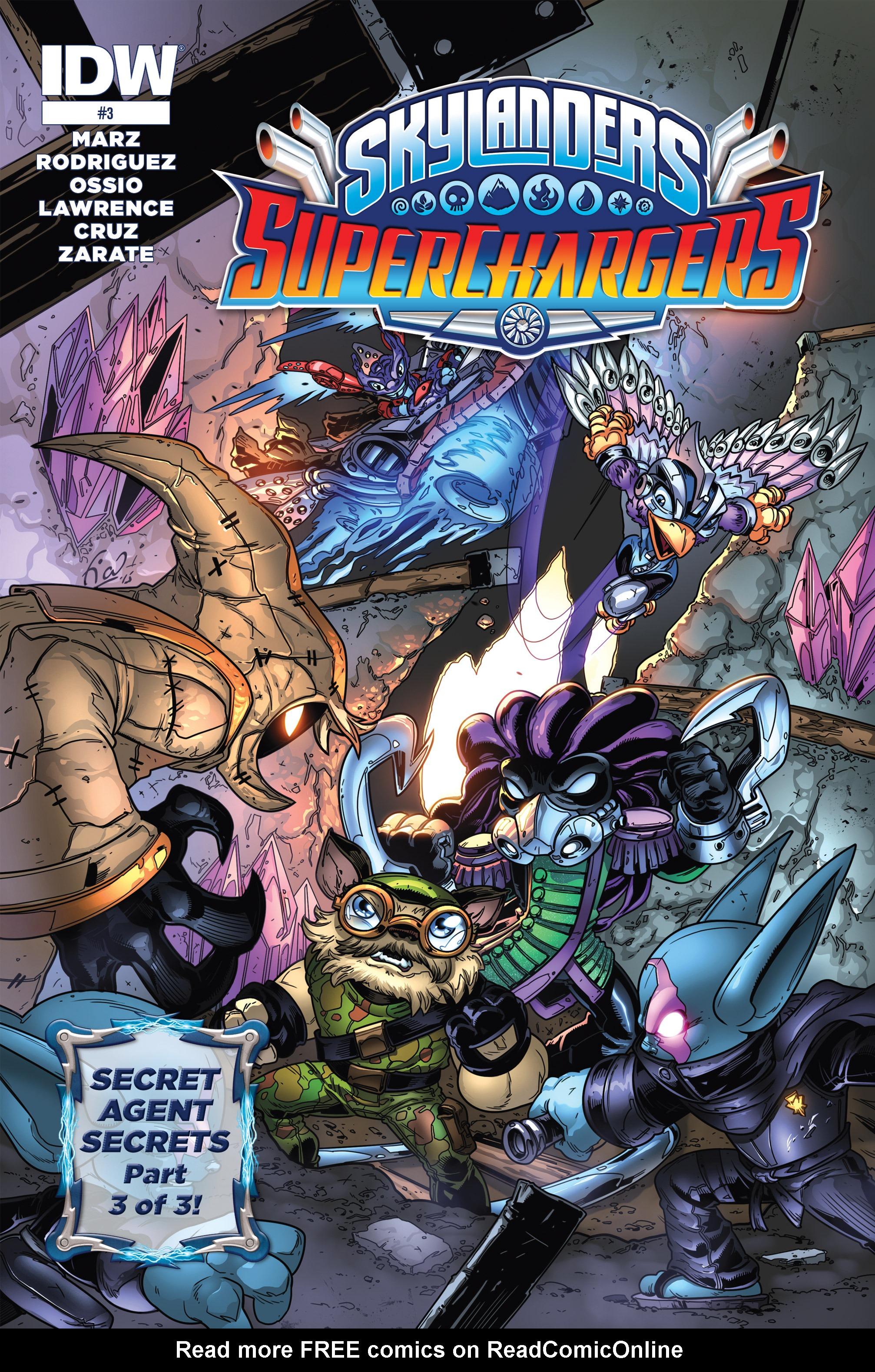 Read online Skylanders Superchargers comic -  Issue #3 - 1