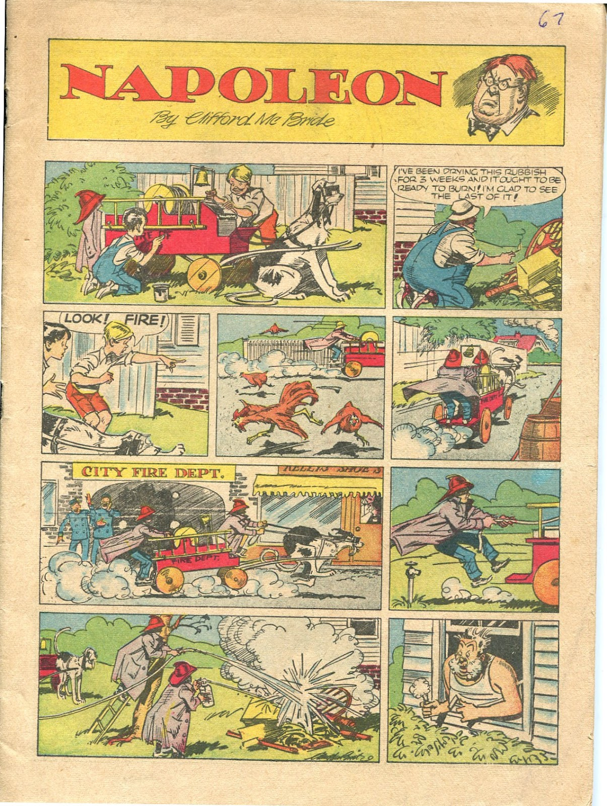 Read online Famous Funnies comic -  Issue #67 - 3