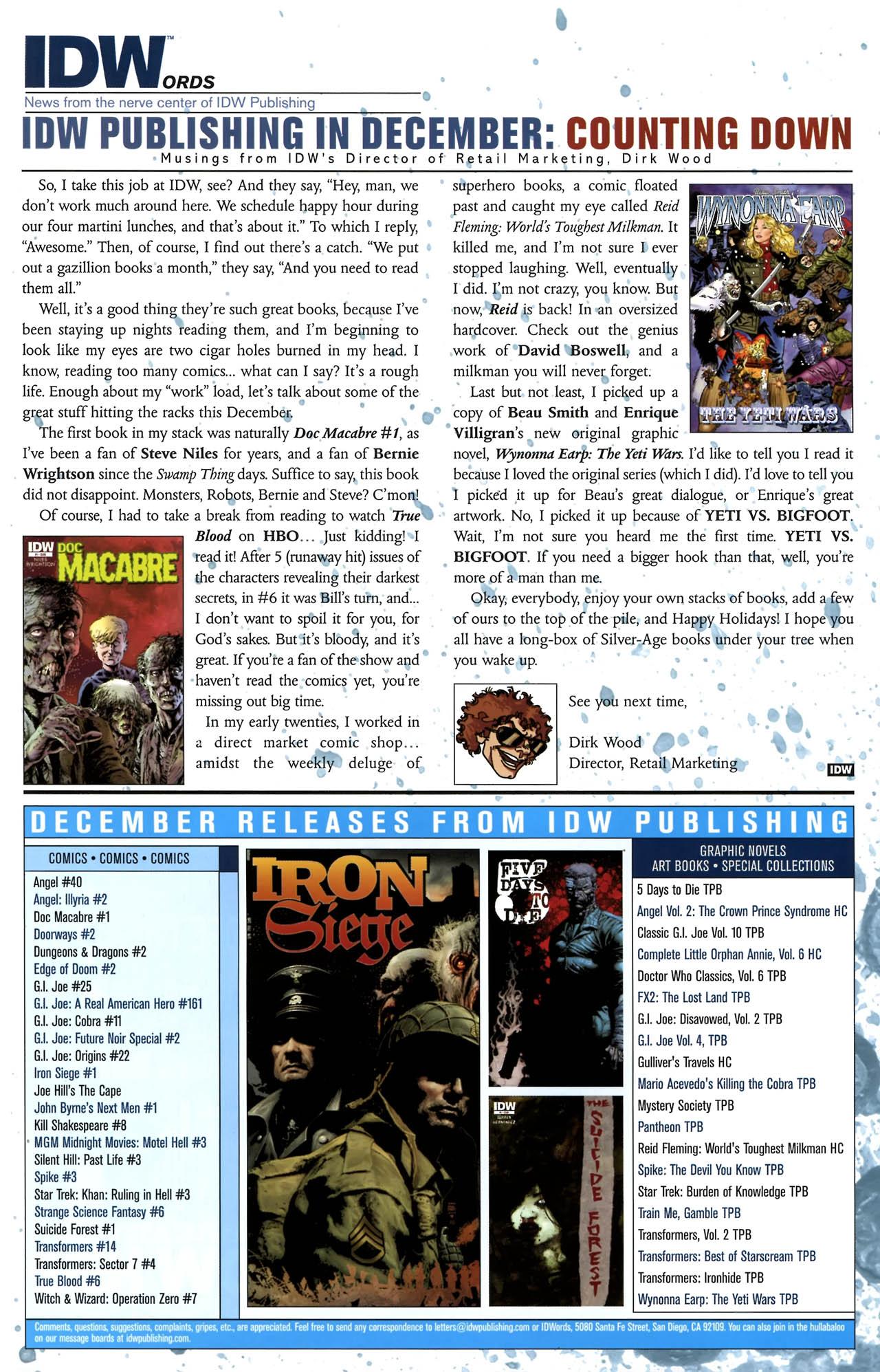 Read online True Blood (2010) comic -  Issue #6 - 26