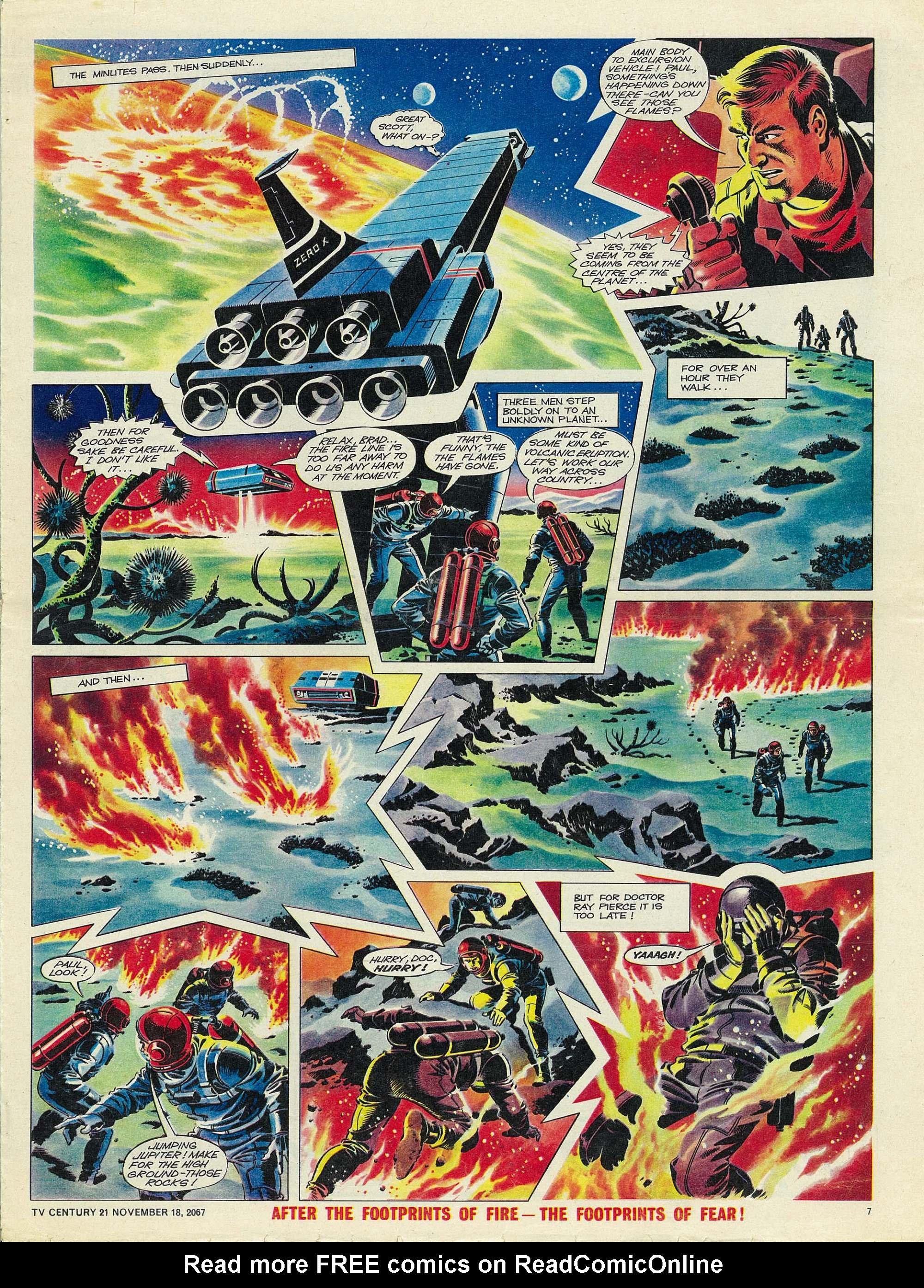 Read online TV Century 21 (TV 21) comic -  Issue #148 - 7