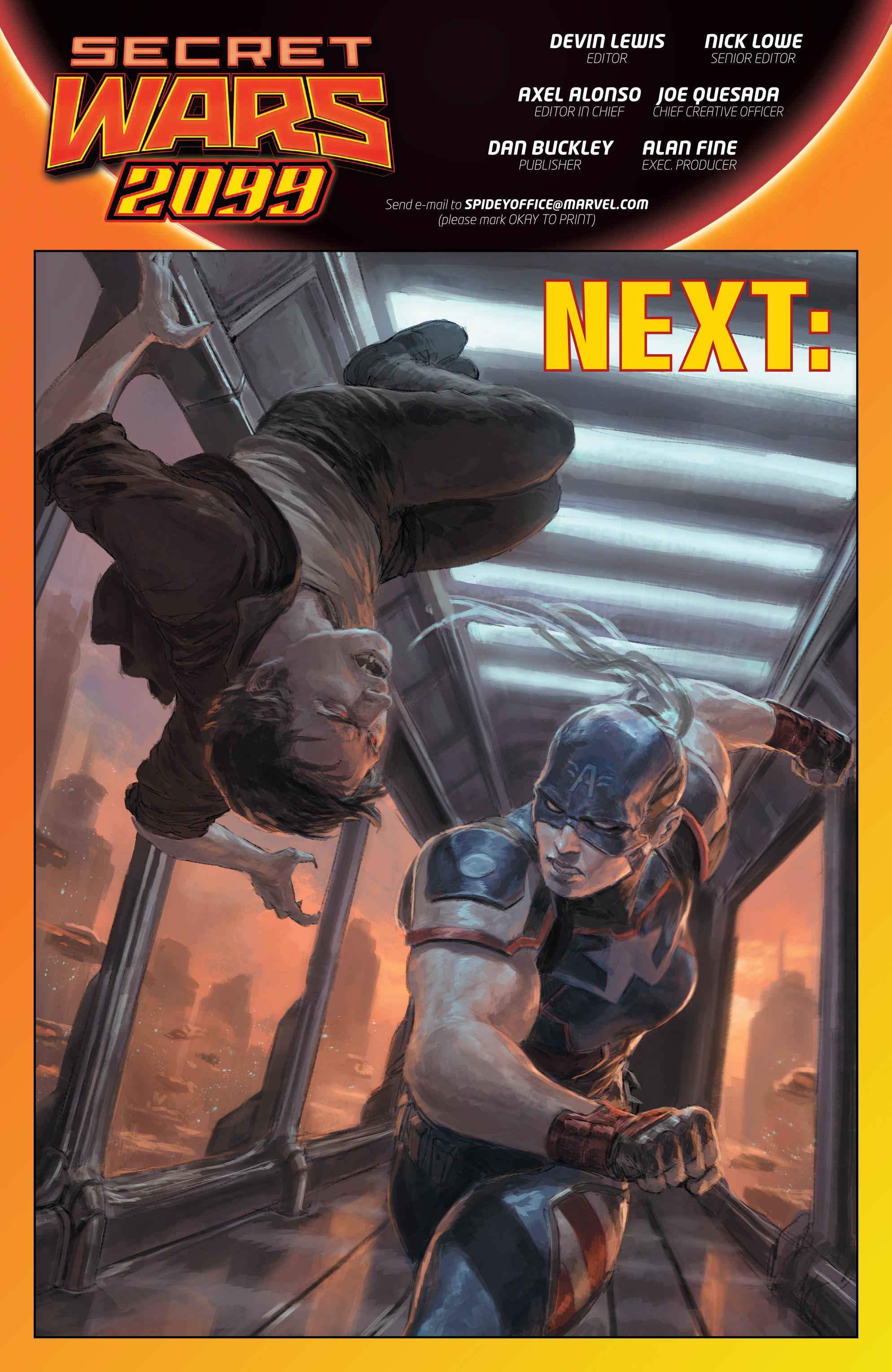 Read online Secret Wars 2099 comic -  Issue #3 - 23