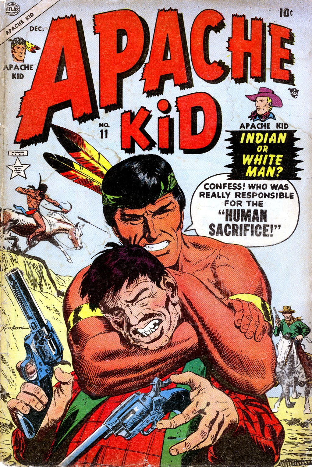 Apache Kid issue 11 - Page 1