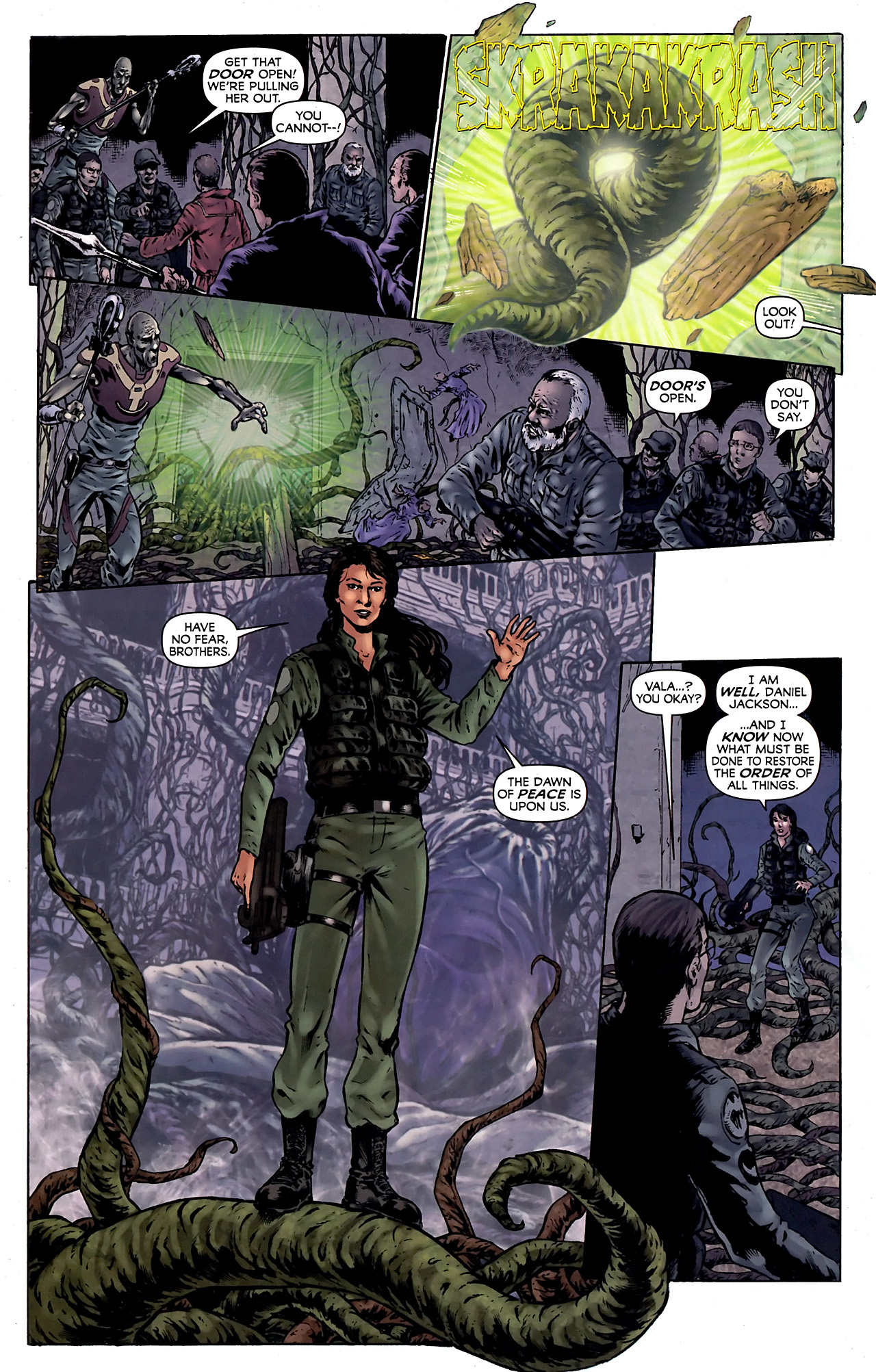 Read online Stargate Vala Mal Doran comic -  Issue #4 - 19