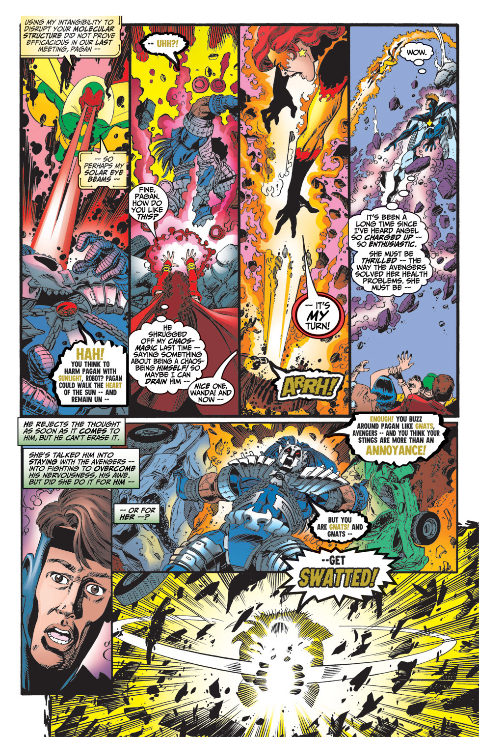 Read online Avengers (1998) comic -  Issue #15 - 13