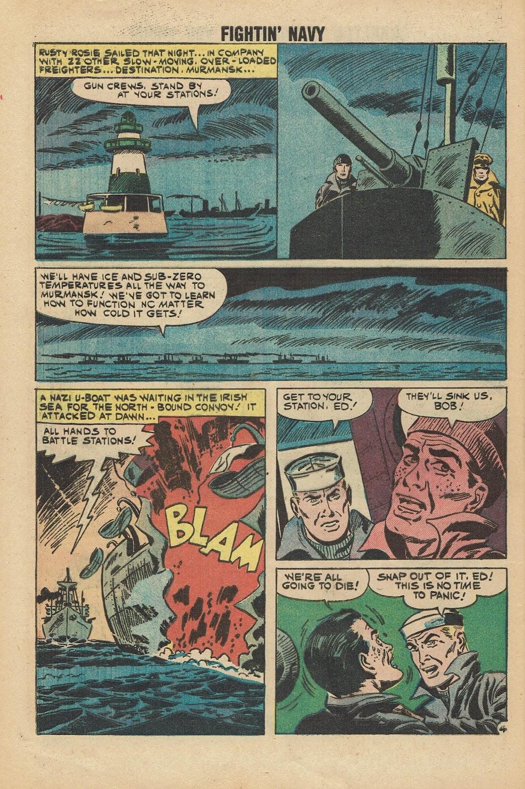 Read online Fightin' Navy comic -  Issue #96 - 28