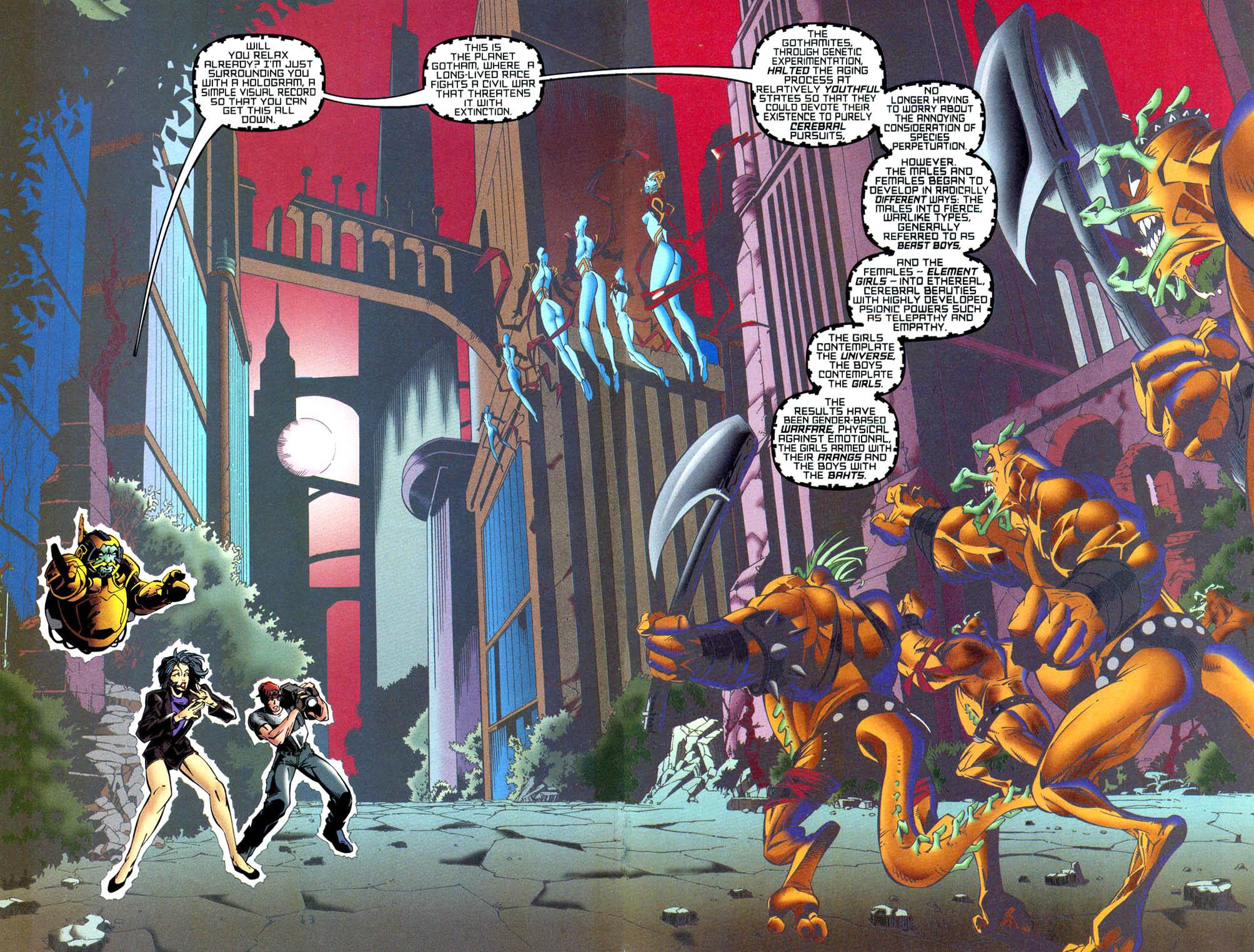 Read online Tangent Comics/ Wonder Woman comic -  Issue # Full - 14