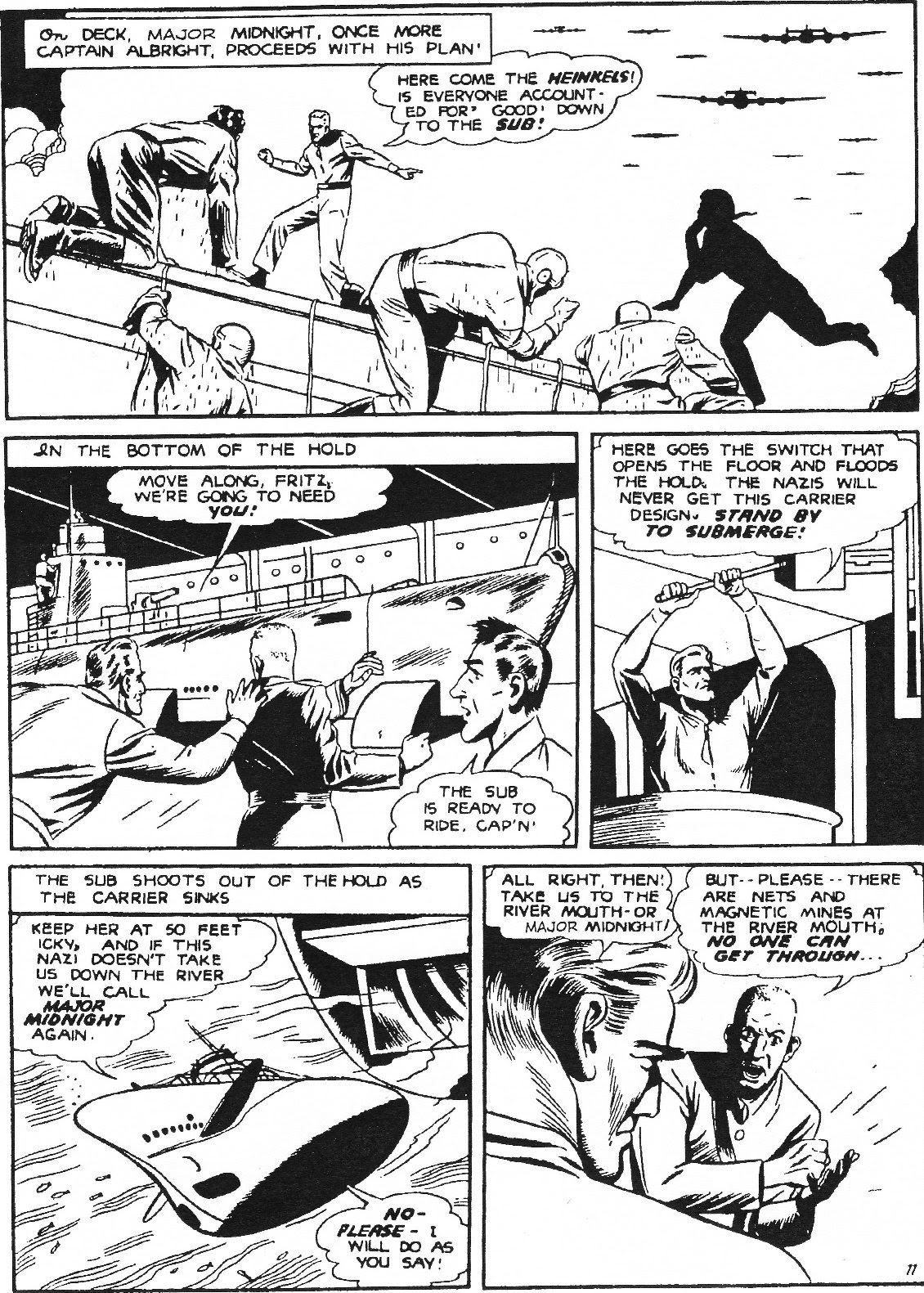 Captain Midnight (1942) issue 11 - Page 22