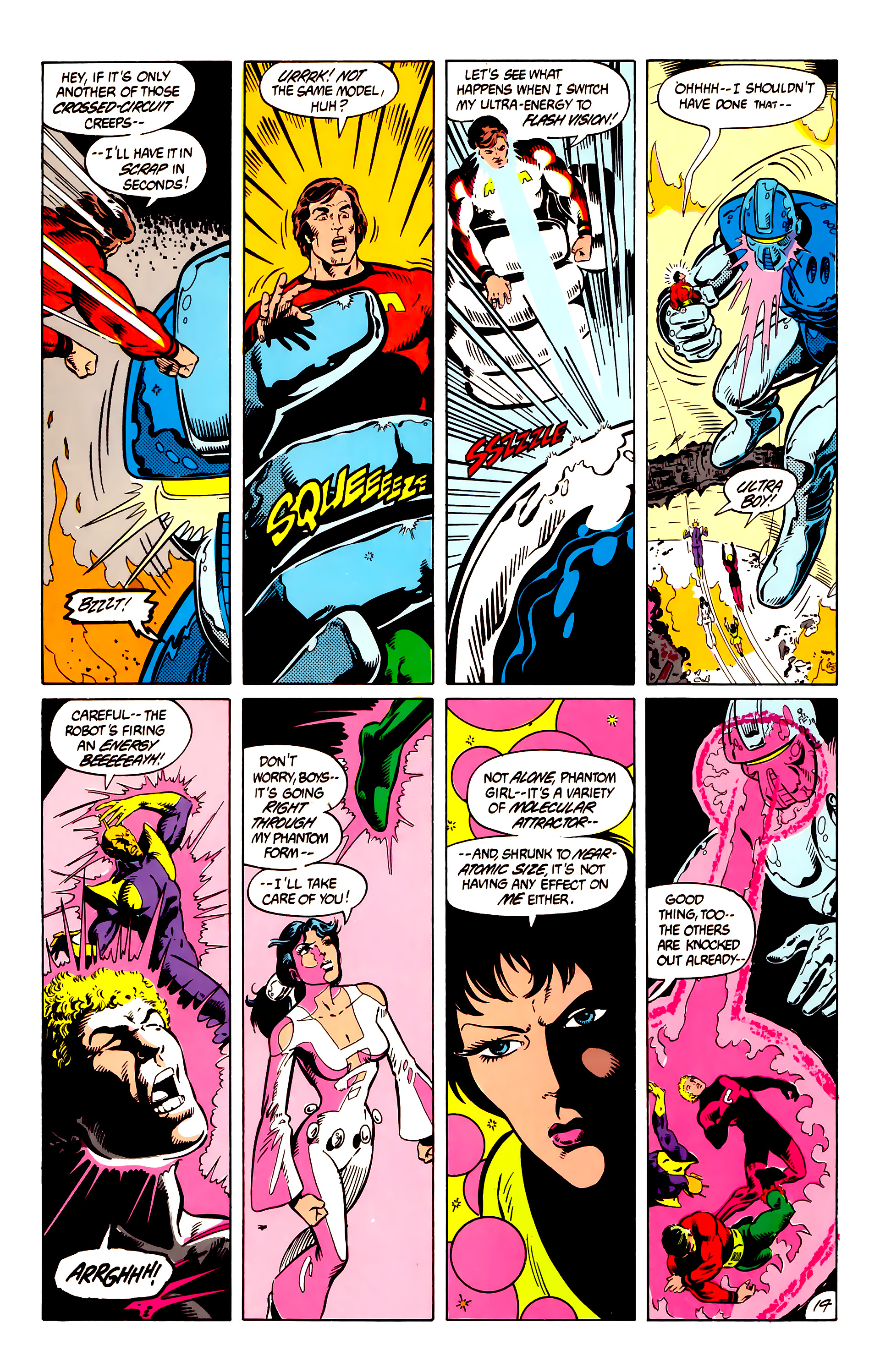 Legion of Super-Heroes (1984) 8 Page 15