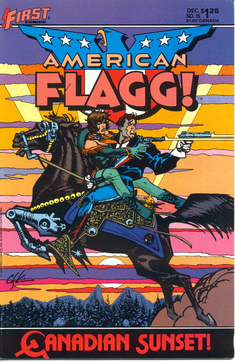 American Flagg! issue 15 - Page 1