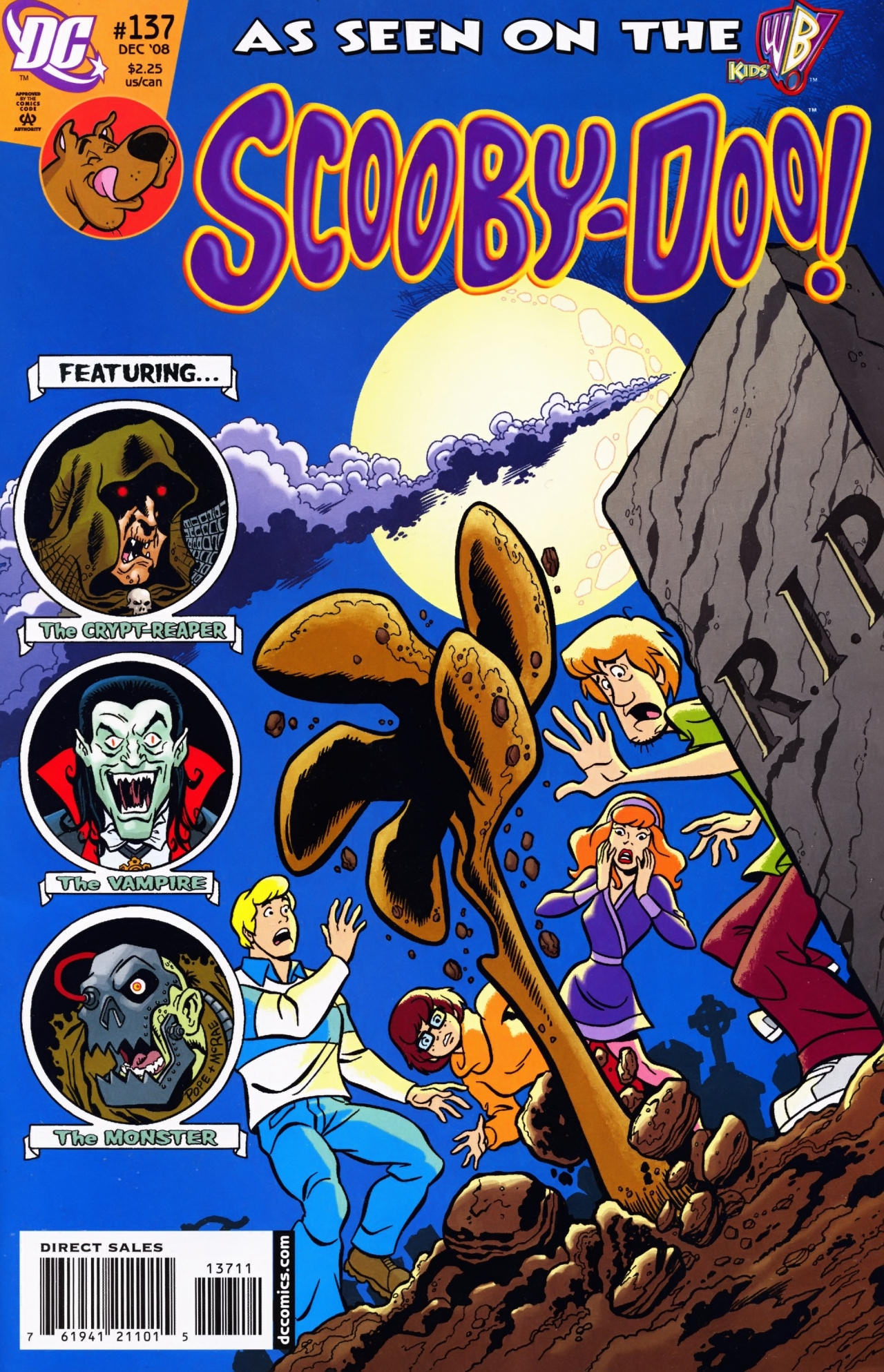 Read online Scooby-Doo (1997) comic -  Issue #137 - 1
