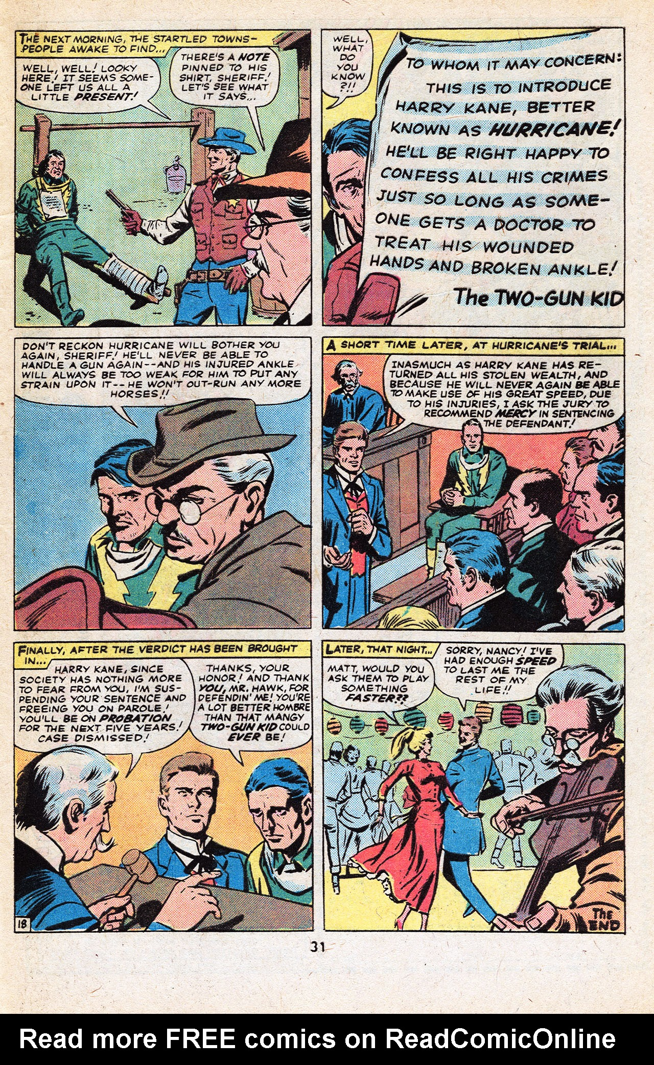 Read online Two-Gun Kid comic -  Issue #133 - 33