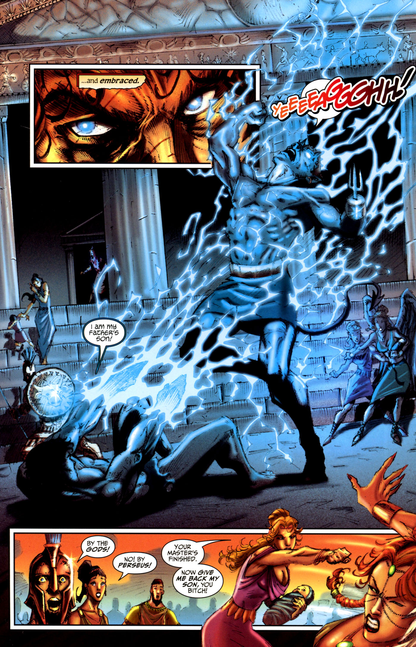 Read online Wrath of the Titans comic -  Issue #4 - 22