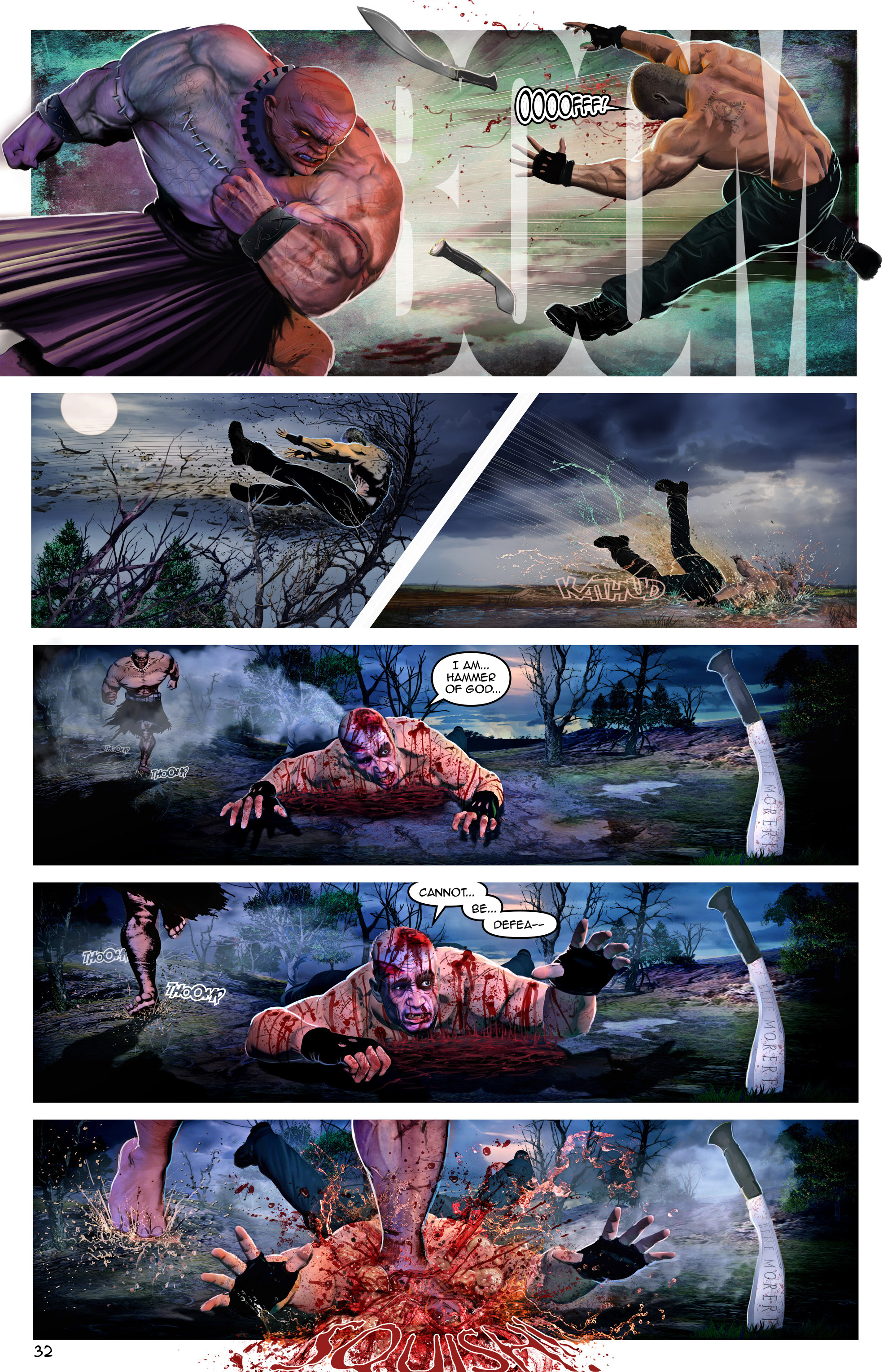 Read online Escape from Jesus Island comic -  Issue #3 - 32